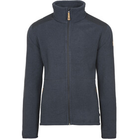 Fjällräven Sten Fleece Jas Heren, dark navy